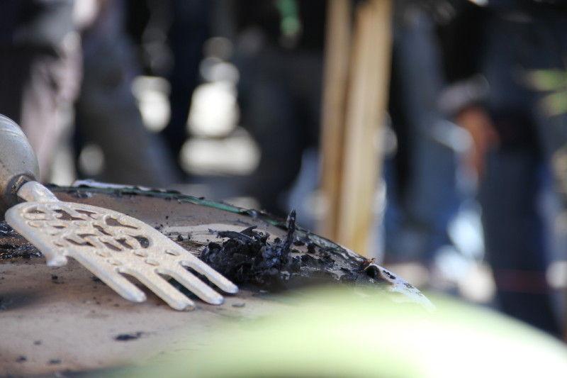 خیمه سوخته