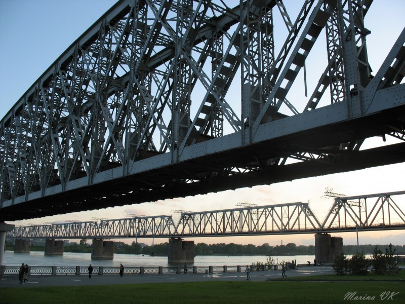 Bridges of Novosibirsk