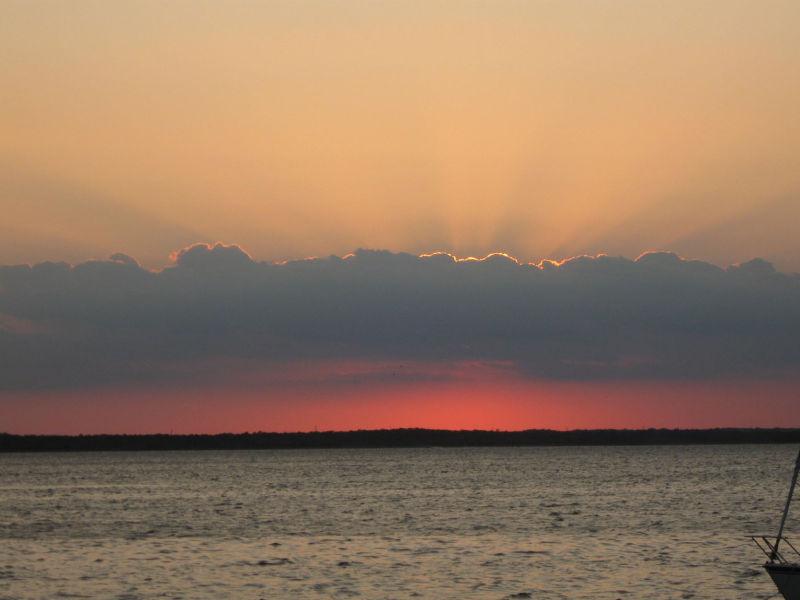 Sunset at Lavallette