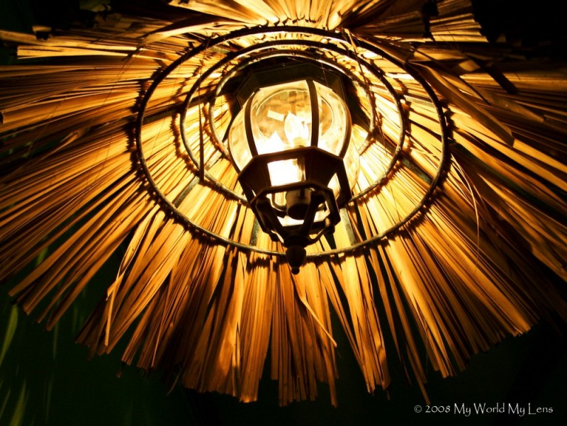 Thatched Lamp