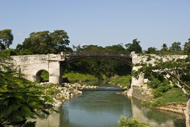 The Spanish Town Iron Bridge
