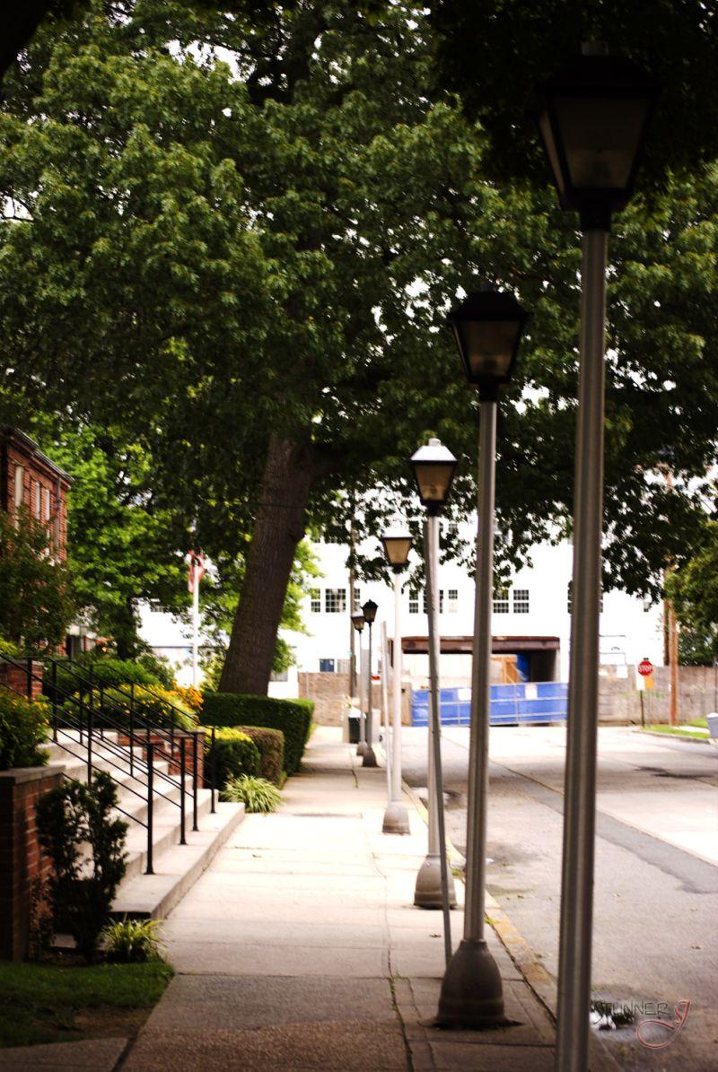 Lonely Sidewalk