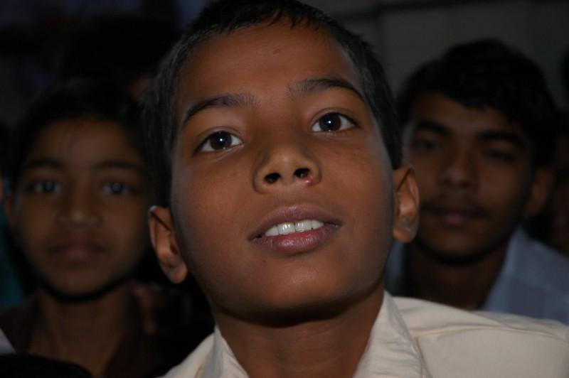 Enfants de Delhi
