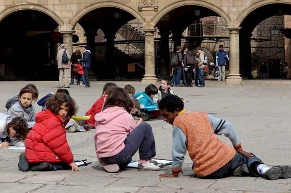 Barcelone, les artistes