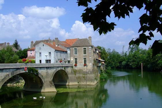 Bourgogne, France, Verdun sur le Doubs