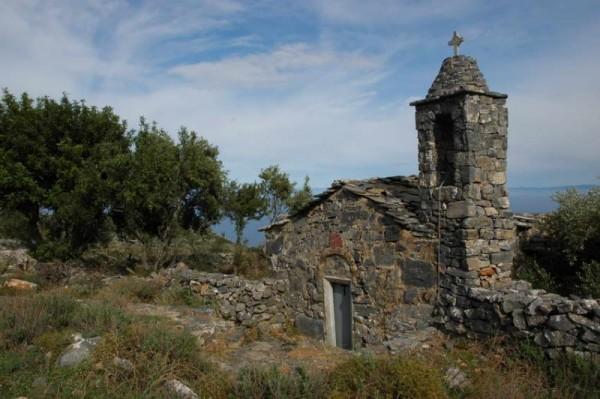 Chapelle dans le Magne (Grèce)