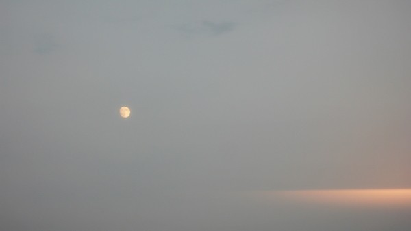 I miss the full moon.
