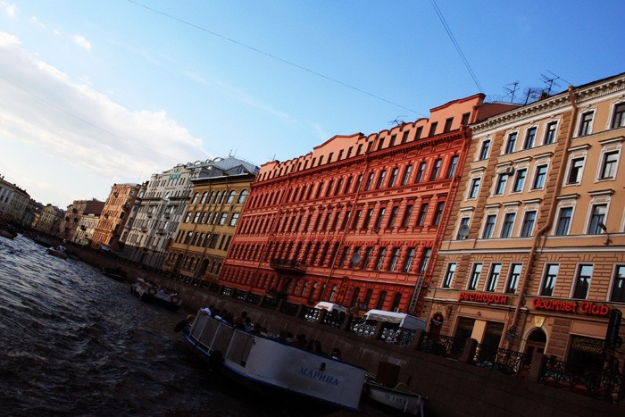 Russia: Rivers and canals of Saint-Petersburg