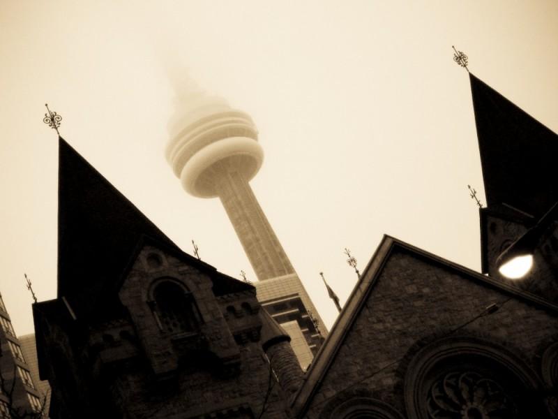 Fog in Toronto