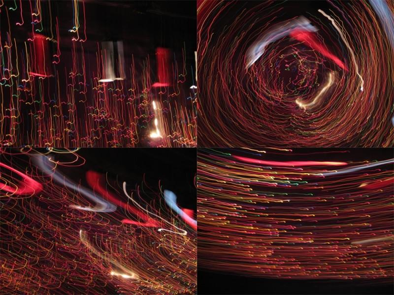 long exposure light play