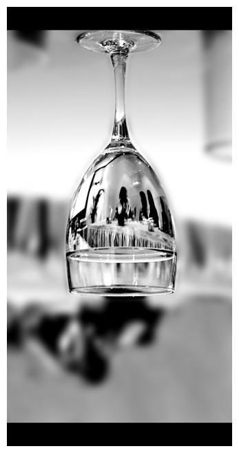 agua tomada