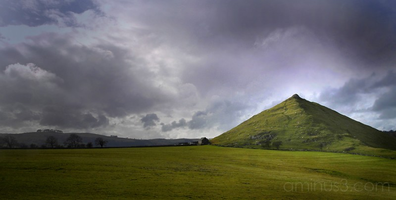 Light after storm over Dovedale
