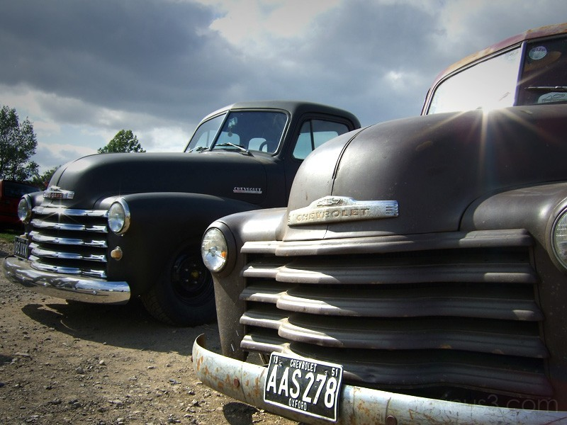 Two Chevy's