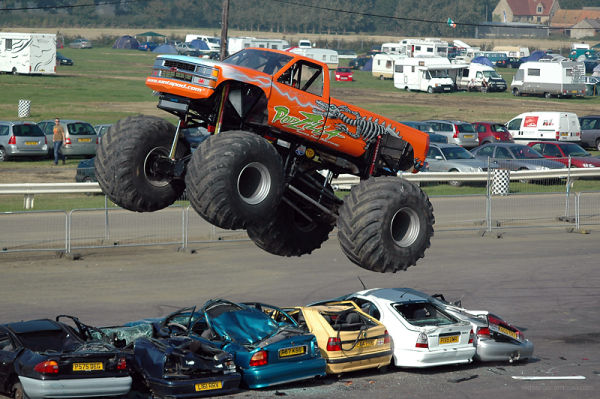 Monster Truck at SantaPod