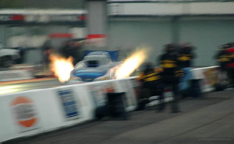 Header flames