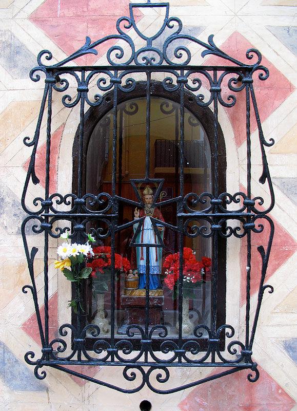 Religious view in Malaga