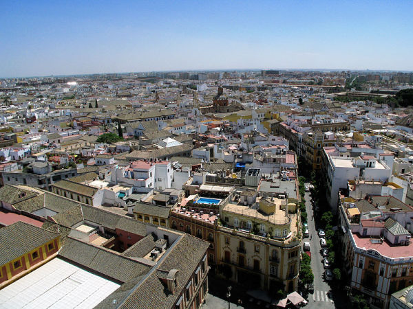 Seville from Tower