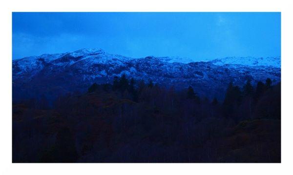 cold snow mountain cumbria