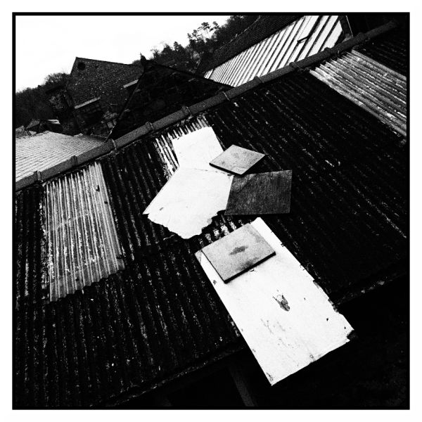 patchworked tin roof
