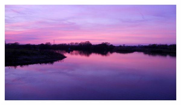 Glorious Spring Sunset