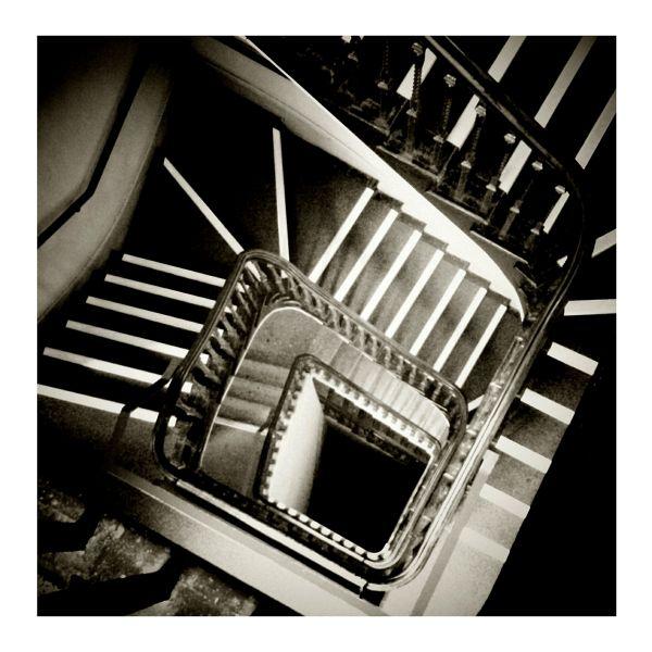 vertiginous stairs whirly