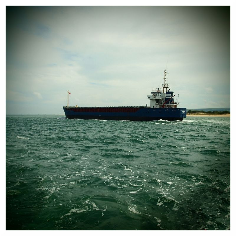 big ship tanker vessel poole harbour