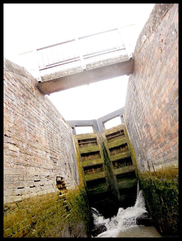 Going Down Foxton Locks
