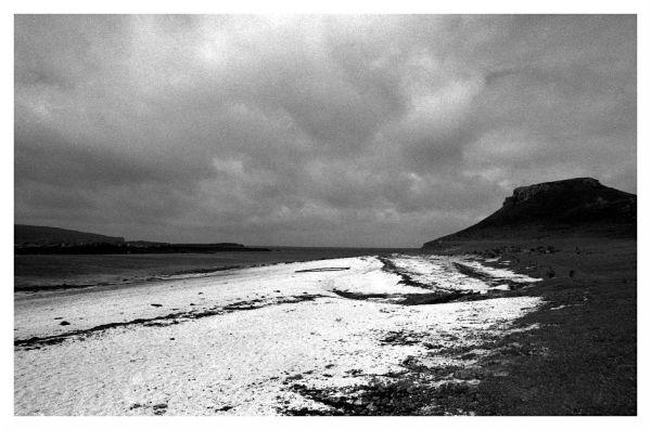 dramatic beach isle of skye scotland