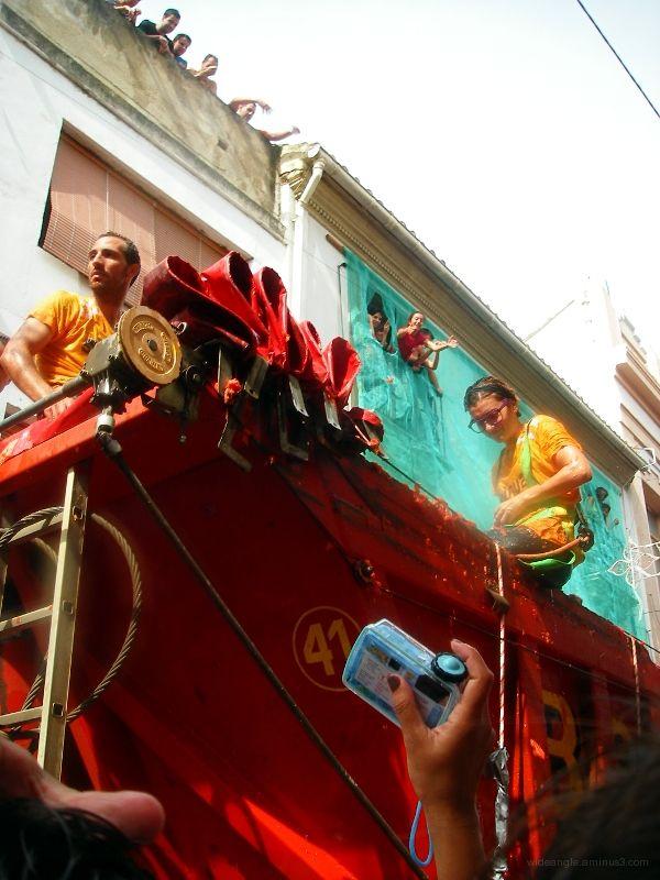 tomato truck la tomatina