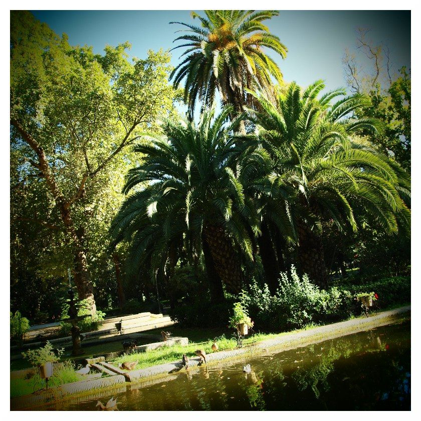 tropical park seville spain