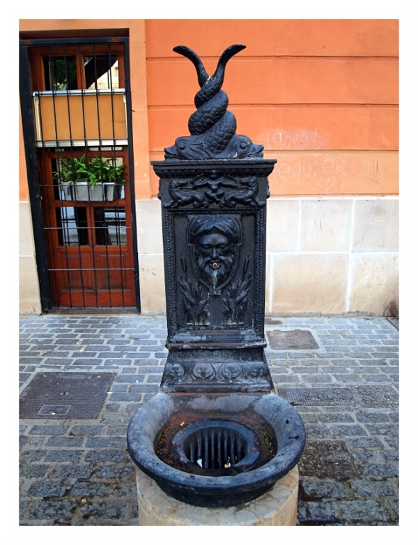 Water Fountain, Valencia