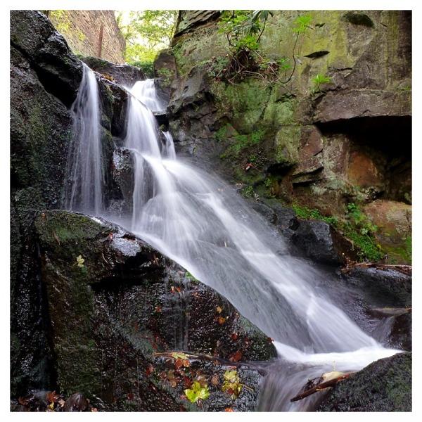 Lumsdale Waterfalls