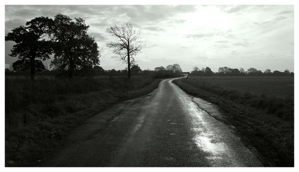 winding road that leads nowhere