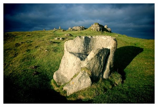 Kings Seat Harboro Rocks Derbyshire
