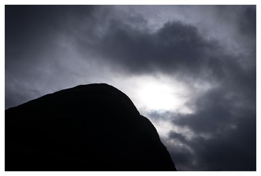 sombre winter land derbyshire peaks