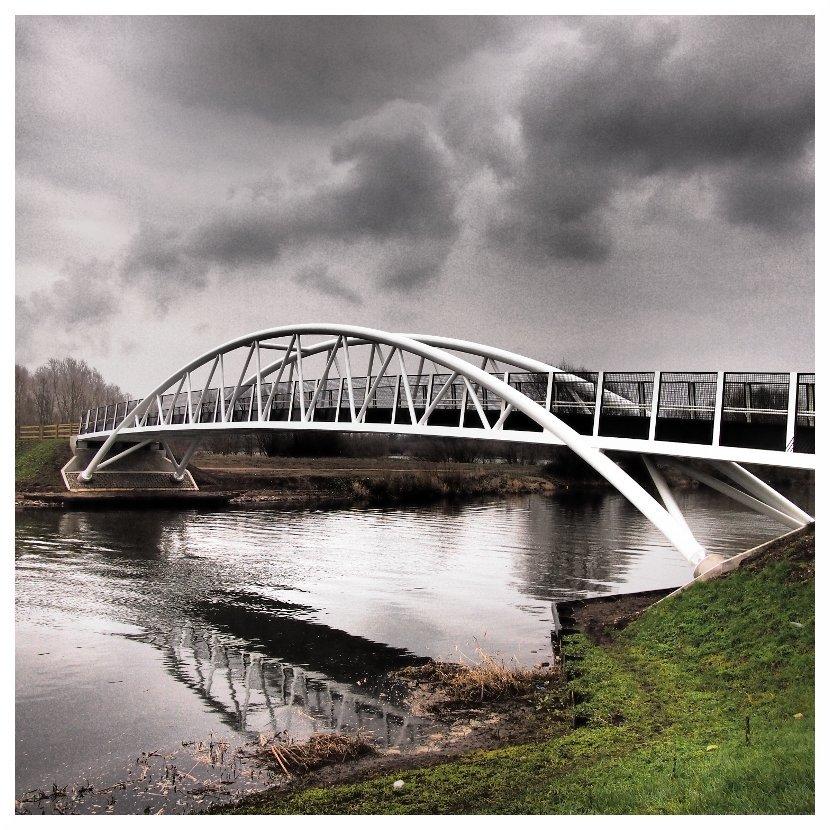 new bridge over river trent shardlow