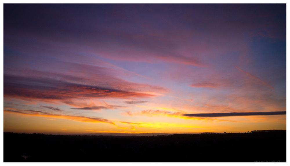 sunset belper