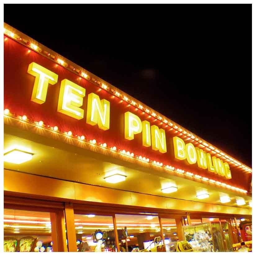 ten pin bowling alley skegness