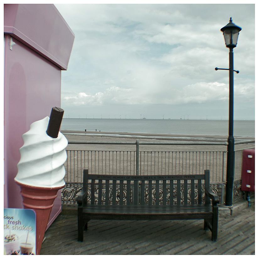ice cream beach pier skegness