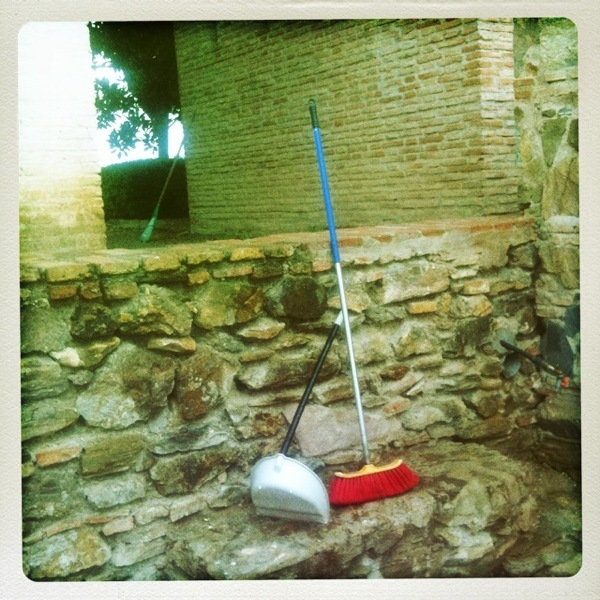 Dustpan & Broom, Malaga Castle
