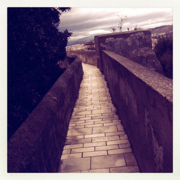 Straight Path along Ramparts
