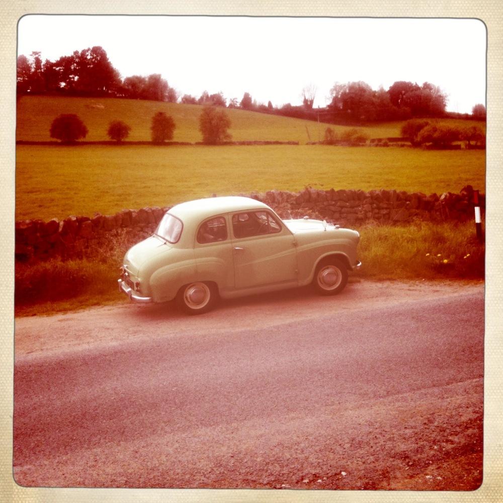 vintage car belper