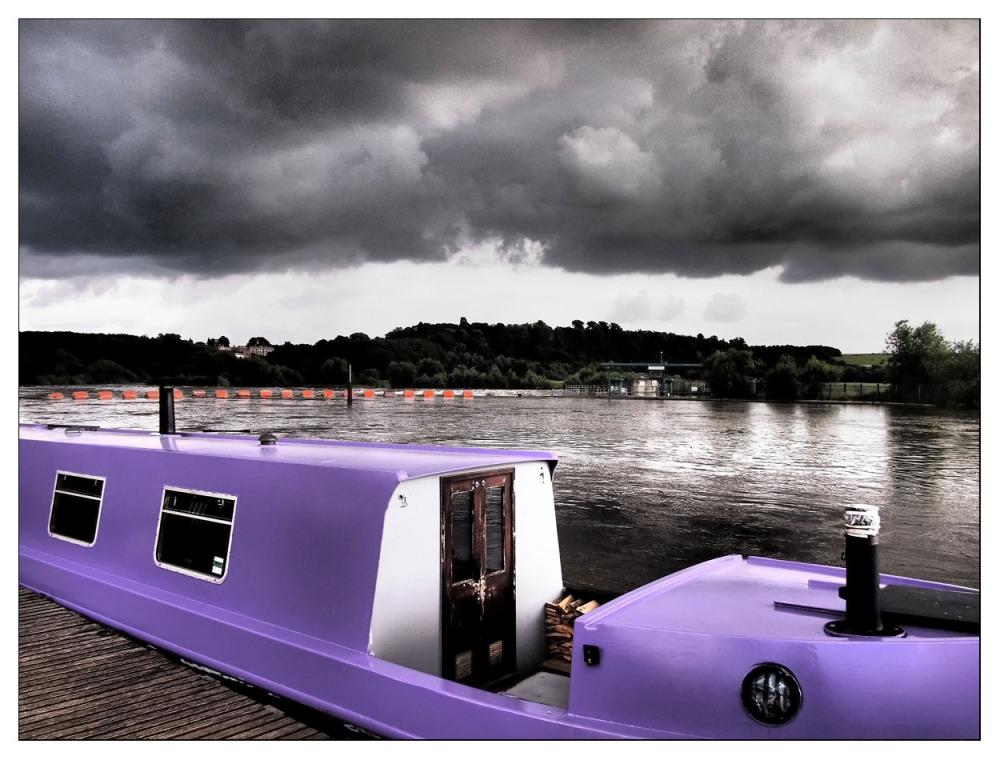 purple boat river trent beeston