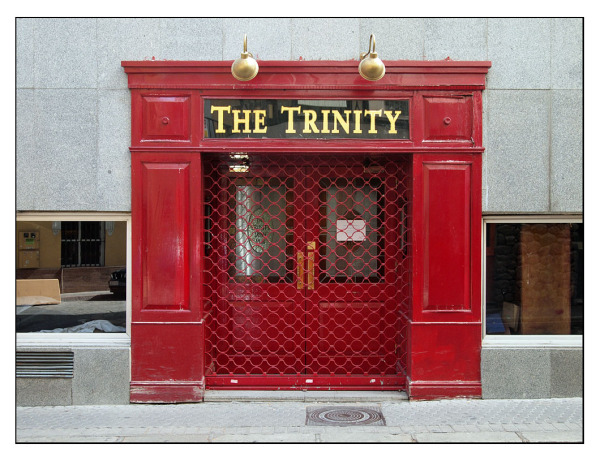 trinity red seville doors