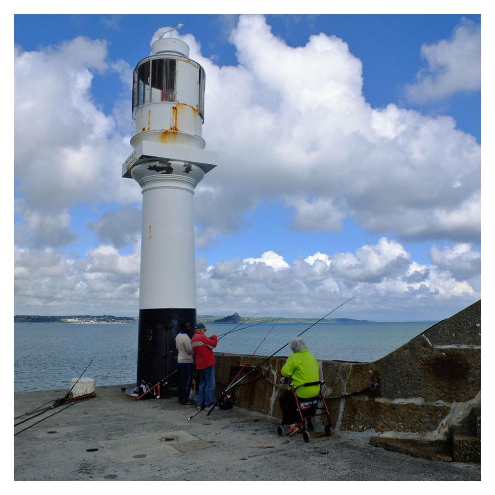 fishing pier penzance lighthouse