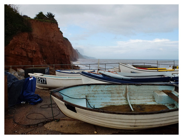 small fishing boats sidmouth