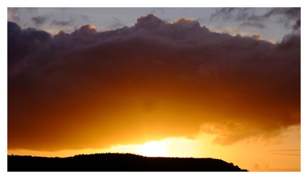 big sunset sidmouth devon