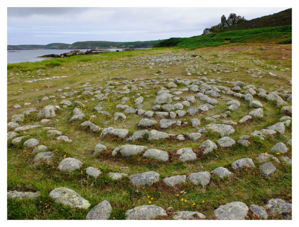 ring stones isles scilly west coast atlantic