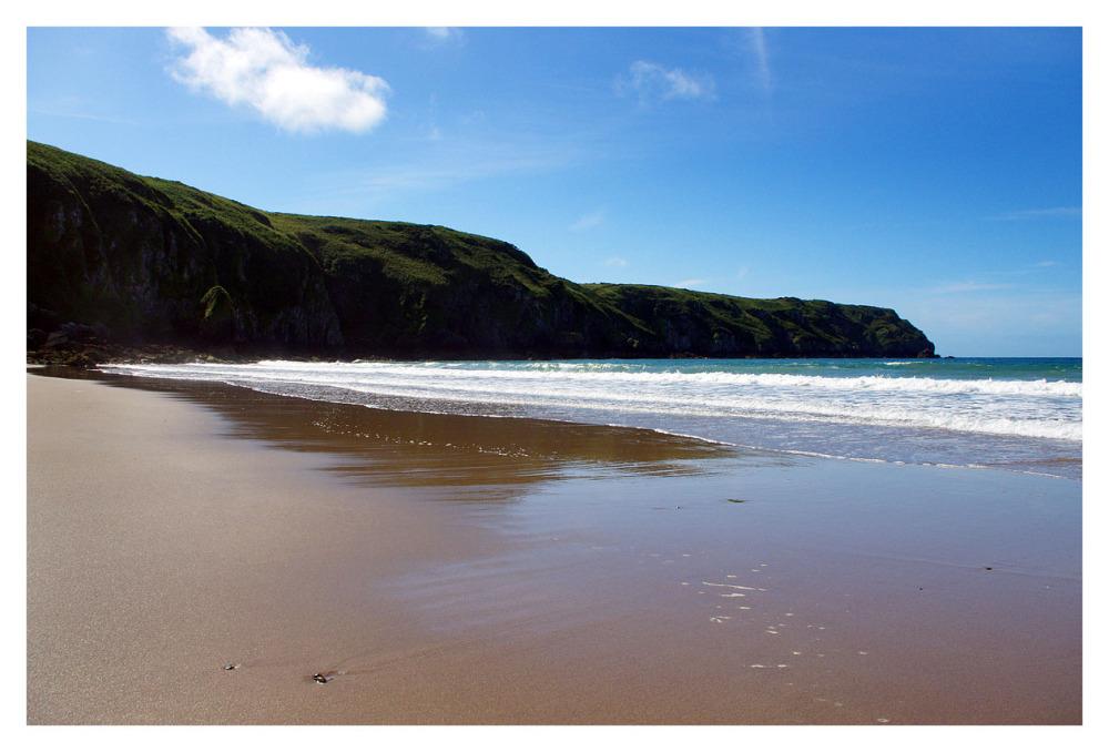 pembrokeshire coastline seaside beach cliffs