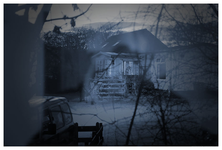 witches house cyanotype